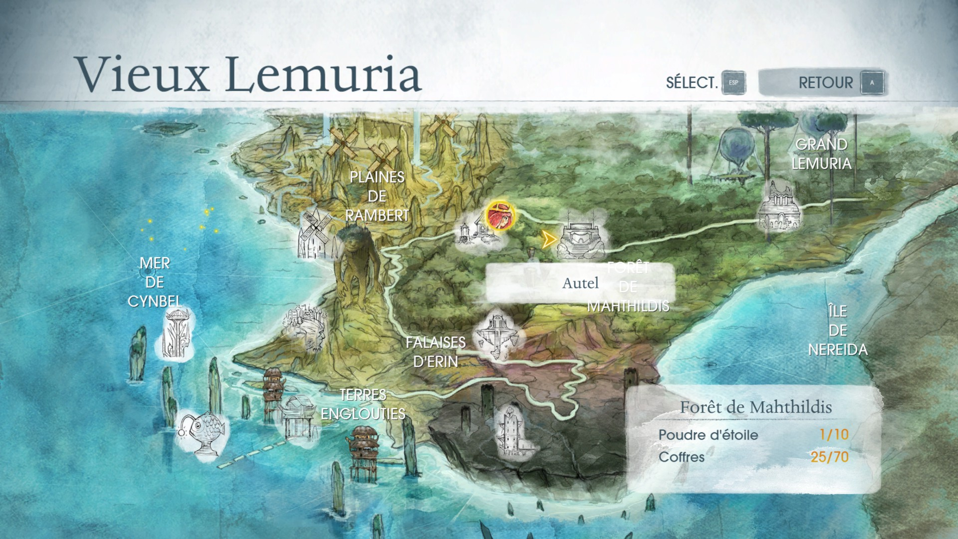 carte lemuria child of light